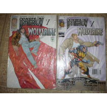 X-men Deathblow Y Wolverine Tomo Unico Monster Marvel Varios
