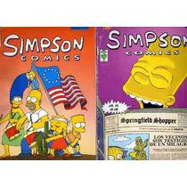 Lote De Comics De Los Simpson Edición Mexicana Editorial Vid