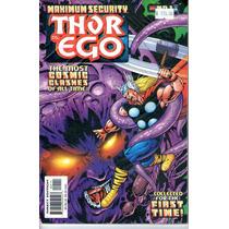 Comic Maximun Security Thor Vs Ego # 1 En Ingles