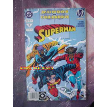 Superman Mundos En Colision Tomo 2, Editorial Vid