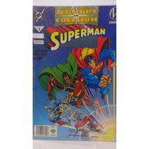 Superman Mundos En Colision Vol.3 1era Edicion Editorial Vid