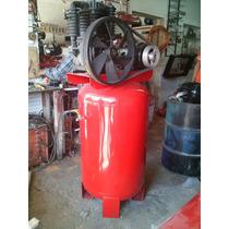 Compresor De 5 Hp Motor De 5 Hp Trifasico Tanque 300 Lts