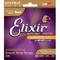 Nuevas Elixir Nanoweb Alta Definición Cuerdas Guitarra Vv4
