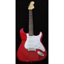 Guitarra Electrica Color Rojo Excelente Sonido