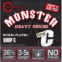 Cleartone Monster Heavy Cuerdas Drop C 13-70 Guitarra Eléctr