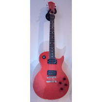 Guitarra Tipo Les Paul Color Rojo Perla Bellator