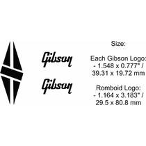 Set Logotipos Logos Guitarra Electrica Gibson Les Paul B B