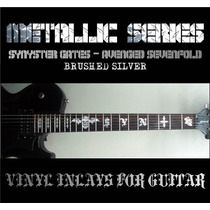 Synyster Gates Avenged Sevenfold Guitarra Schecter Inlays Bs