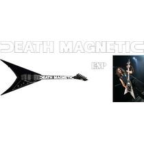 Stickers Kirk Hammett Death Magnetic Guitarra Electrica Esp