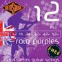 Rotosound R12 12-52w Cuerdas Guitarra Eléctrica + 1 Gratis