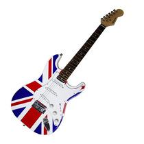 Guitarra Electrica Union Jack Bandera Inglaterra