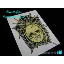 (*) Sticker Kirk Hammett Spider Skull Esp Kh-3 Guitarra Bajo