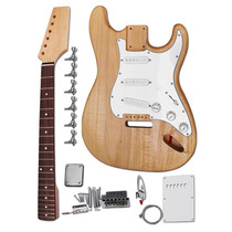 Set Completo De Guitarra Electrica Para Ensamblar Y Diseñar.