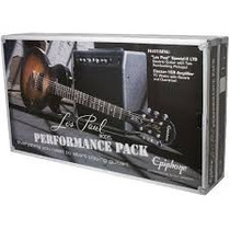 Paquete Guitarra Epiphone Performance Pack Les Paul 15w