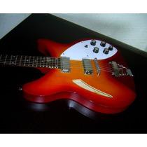 Guitarra No Rickenbacker Tipo Estilo / Gretsch Gibson Fender