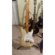 Fender American Stratocaster Deluxe Olympic Wht