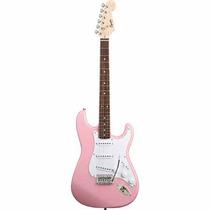 Guitarra Electrica Squier Bullet W/trem Rosa