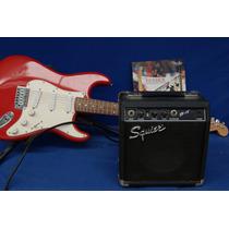 Guitarra Eléctrica Fender Squier Amplificador Y Accesorios