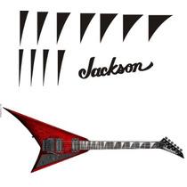 Stickers Vinil Guitarra Eléctrica Jackson Randy Rhoads Shark