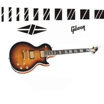 Stickers Vinil Les Paul Supreme Gibson, Trastes Y Logotipos