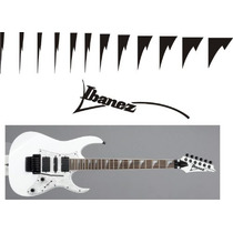 Stickers Vinil Inlays Guitarra Electrica Ibanez Shark Tooth