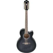 Guitarra Electroacustic Ibanez Nga 12 Cdas. Mod.ael2012e-tks