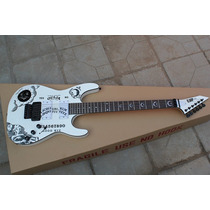 Guitarra Esp Kirk Hammett Ouija Blanca (metallica)