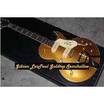 Gibson Les Paul Custom Goldtop Hollowbody