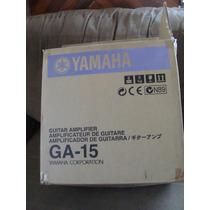Amplificador Para Guitarra Yamaha De 15 Watts Mod.ga-15
