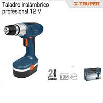 Taladro Destornillador Truper 12 V