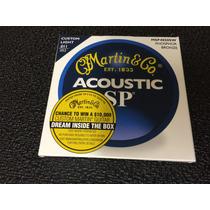 Juego De Cuerdas Martin Guitarra Electroacústica 11-52 12-54