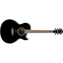 Guitarra Electroacústica Ibanez Joe Satriani Negra Jsa5-bk