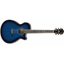 Guitarra Electroacustica Ibanez Aeg8e-tbs Nueva!
