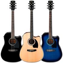 Guitarra Electroacustica Ibanez Pf15ece (nga, Nat, Azul)