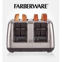 Tostadora De Pan 4 Rebanadas Faberware Mas Regalo