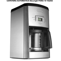 Cafetera Automatica Programable De Acero Inoxidable Delonghi