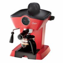 Oster Cafetera Espresso Y Capuccino Hidropresion - Roja
