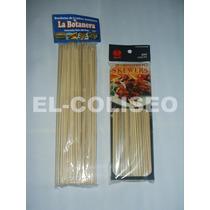 Para Su Fuente ** Paquete De 100 Palillos De Bamboo De 25cm
