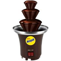 Fuente Mini De Chocolate Chamoy Queso Nesquik