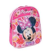 Disney Minnie Mouse 11 Mini Niño Preescolar Mochila Con Las