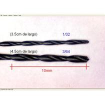 Brocas Pcb 1/32 (resist 0.5w) Y 3/64 (1w) Circuito Impreso