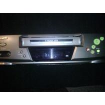 Vcr Sanyo Videocasetera Para Reparar Reproductor Vhs Vintage