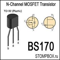 Bs170 Transistor Mosfet. Op4
