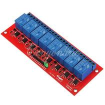 Arduino: Modulo De 8 Canales Relevador/relay 5v Pic Avr Et