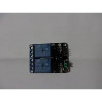 Modulo Rele Relay Relevador 2 Canales Y 5v Para Arduino Pic