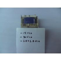 Transformador 15,1.8+1.8, 30vca 3a