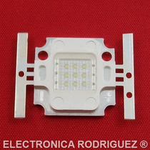 Led Potencia 10 Watt Color Verde 12volts Power Led Smd 10w