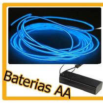 Cable Alambre Hilo Luminoso Luz Neon Dj Tuning Tron Vva
