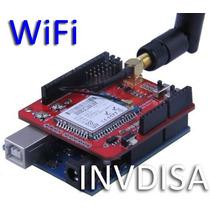 Wifi Shield Wizfi210 Arduino Pic Ieee 802.11b/g/n