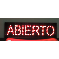 Anuncio De Led Abierto/letrero Led Para Negocio Abierto